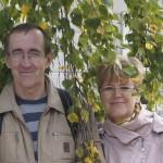Виталий Цаценко с супругой Любочкой