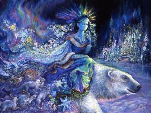 Северная принцесса. Картина Жозефины Уолл.