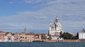 Вид на Венецию со стороны залива