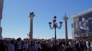 Нашествие туристов в Венеции