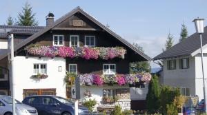 Жилой дом в австрийской деревушке