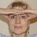Упражнение для круговых мышц глаз