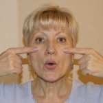 Упражнение для мышц щёк и губ