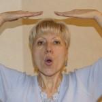Заключительная часть упражения для мыщц щёк и губ