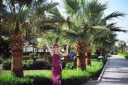 На территории отеля Royal Palace (Хургада, Египет)