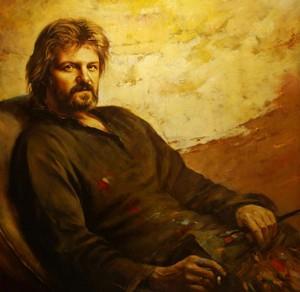 Автопортрет художника Карола Бака