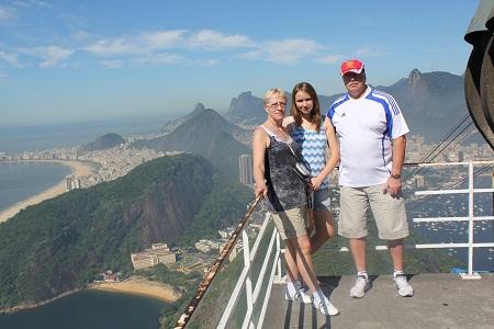Лариса, Саша и Аля в Рио
