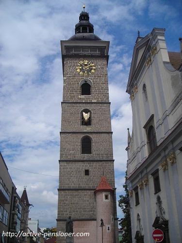 Чёрная Башня (Чешские Будеёвице, Чехия)