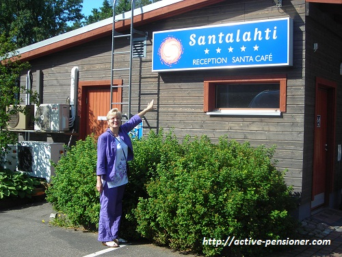 Кемпинг Санталахти (Котка, Финляндия)