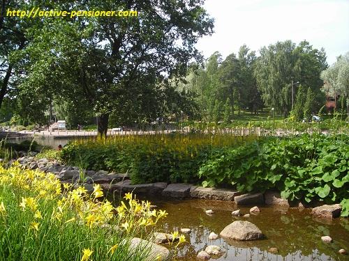 Парк Сапокка (Котка, Финляндия)