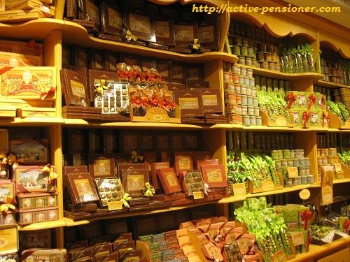 Магазин сладостей бульвар рамбла