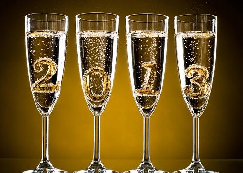 Новогодний тост (New Year's toast)