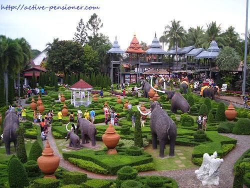Парк Нонг Нуч. Паттая. (Nong Nooch. Pattaya)