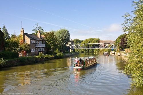Темза. Оксфорд.