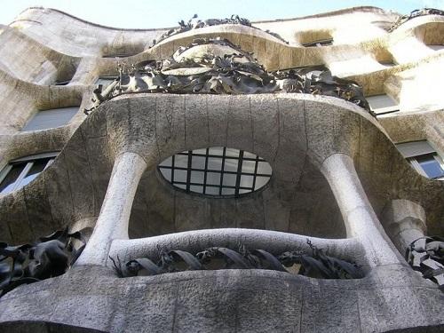 Балкон (Дом Мила, Барселона)