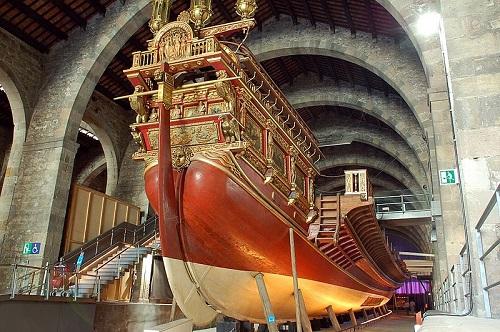 Один из экспонатов Морского музея (Барселона)