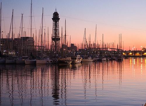 Вечерний порт (Барселона)