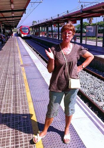 Поезд в Барселону заказывали?