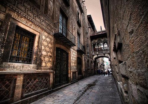 Готический квартал (Барселона, Каталония)