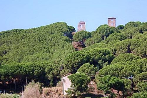 Руины древних башен (Калелья)