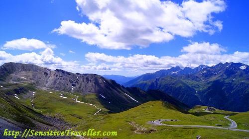 Одна из панорамных дорог Национального Парка Австрии (самостоятельное путешествие)