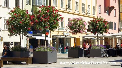 Пешеходная улица в Инсбруке