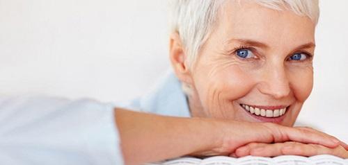 И в пожилом возрасте можно иметь красивую улыбку